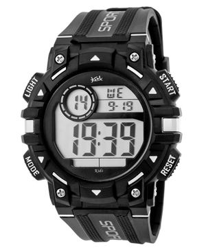 Kool Kidz Digital Watch - Black Silver