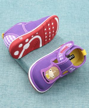Cute Walk by Babyhug Casual Shoes Doll Patch - Purple