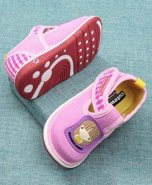 Cute Walk by Babyhug Casual Shoes Doll Patch - Light Pink