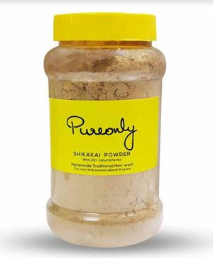 PureOnly Homemade Shikakai Powder - 200 gm