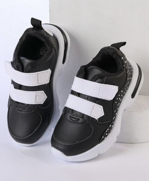 Cute Walk by Babyhug Sports Shoes -Black