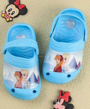 Disney Frozen Clogs With Back Strap - Blue
