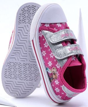 Disney Frozen Casual Shoes Star Print - Pink