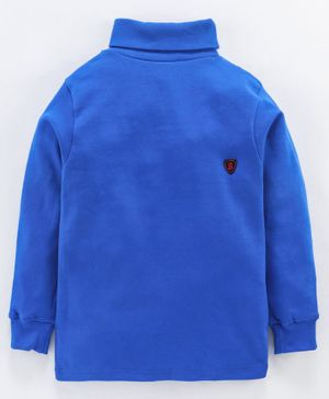 Smarty Full Sleeves Tee S Patch - Royal Blue