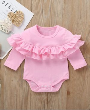Kookie Kids Full Sleeves Onesie - Pink