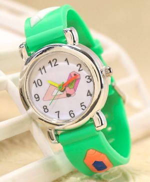 Babyhug Analog Watch - Green