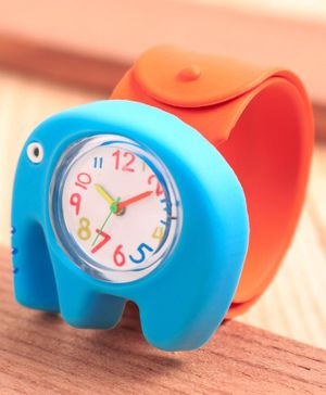 Babyhug Analog Elephant Shaped Watch - Blue