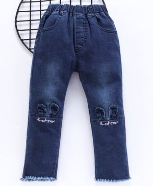Lekeer Kids Full Length Jeans - Blue