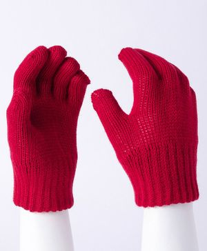 Model Hand Gloves - Red
