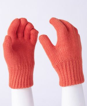 Model Hand Gloves - Coral