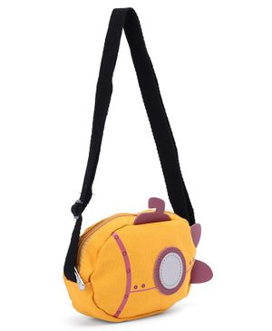 Submarine Shape Sling Bag - Yellow