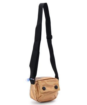 Rectangular Shaped Sling Bag  - Beige