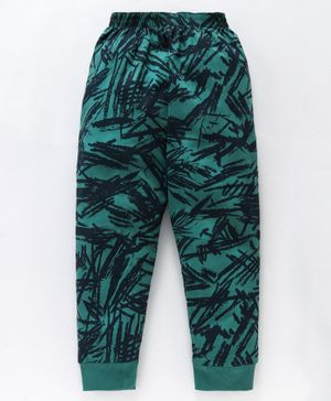Doreme Full Length Printed Lounge Pant - Green