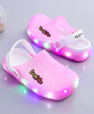 Lucy & Luke Light Up Clogs - Pink