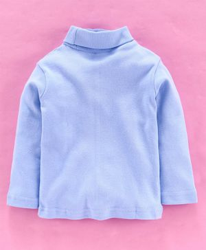 Zero Full Sleeves Winter Wear Tee - Blue