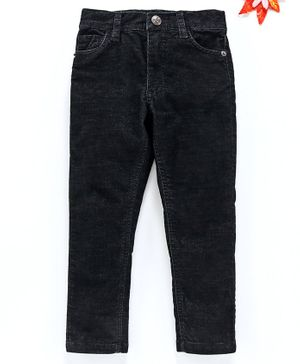 UFO Solid Full Length Jeans - Black