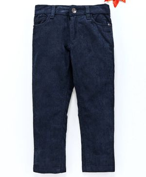 UFO Solid Full Length Jeans - Navy Blue