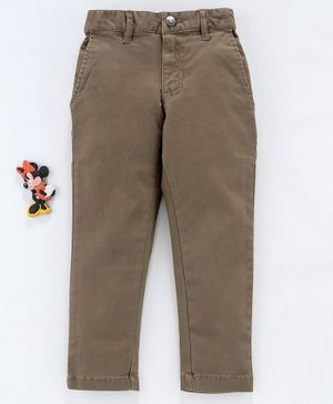 UFO Solid Full Length Pant - Brown