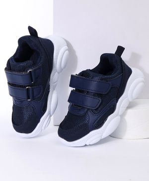 Cute Walk by Babyhug Sports Shoes - Dark Blue