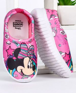Disney Minnie Mouse Printed Casual Shoes - Pink