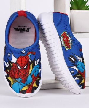 Marvel Spider Man Printed Casual Shoes - Blue
