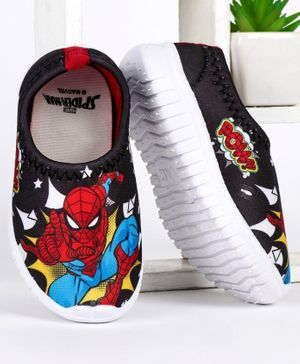 Marvel Spider Man Printed Casual Shoes - Black