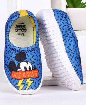 Disney Mickey Mouse Printed Casual Shoes - Blue