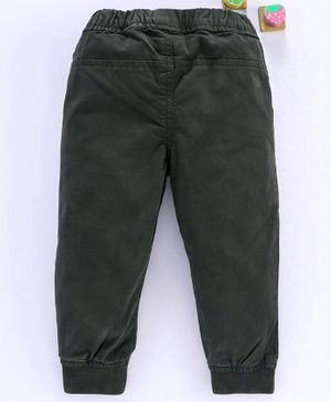 Olio Kids Full Length Trousers - Olive Green
