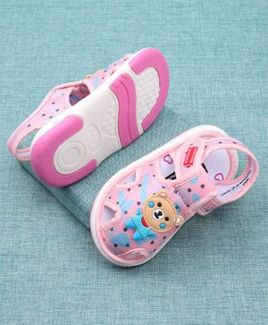 Cute Walk by Babyhug Sandals Female pink