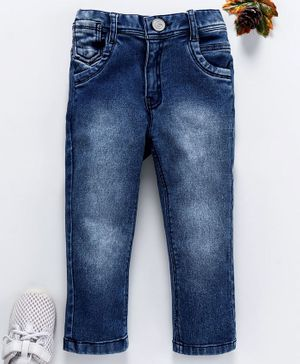 Little Kangaroos Full Length Denim Jeans - Blue