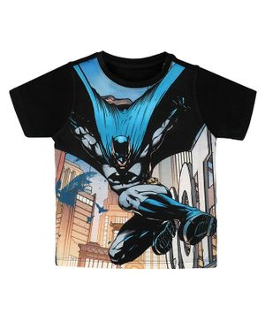 Batman By Crossroads In The City T-Shirt - Multicolor