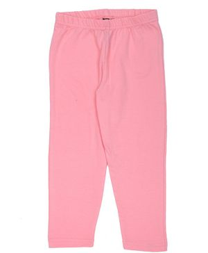 Pikaboo Solid Full Length Elasticated Leggings - Pink