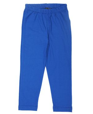 Pikaboo Solid Full Length Elasticated Leggings - Blue