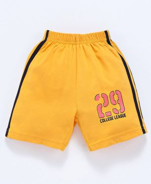 Taeko Shorts 29 Print - Yellow