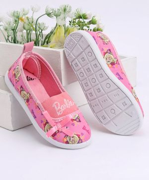Barbie Casual Printed Shoes - Pink