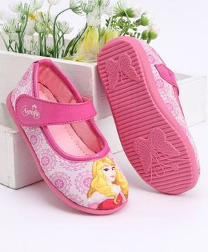 Disney Princess Velcro Closure Bellies - Pink