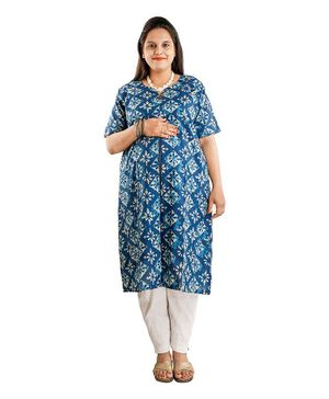 DFF Smart Protect Anti Radiation Kurta - Blue