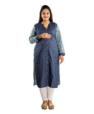 DFF Smart Protect Anti Radiation Kurta - Dark Blue