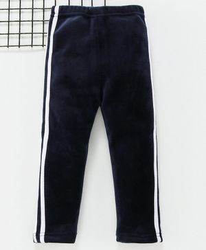 Mabaojd Full Length Track Pant - Navy Blue