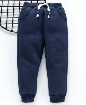 Yiyi Garden Full Length Solid Color Lounge Pant - Navy Blue