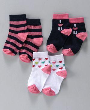 Girls Hello Kitty 3 pack Tights 2-3 years 4-5 years 6-7 years 8-9 years