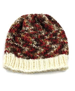 Magic Needles Multi Colour Knitted Cap - Multi Colour