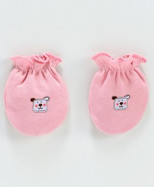 Ben Benny Mittens Animal Patch - Pink