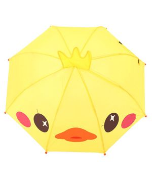 Babyhug Umbrella 3D Animal Design - Yellow