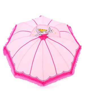 Babyhug Umbrella 3D Fairy Design - Pink