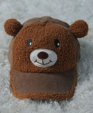 Tipy Tipy Tap Teddy Design Cap - Brown