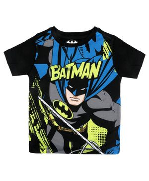 Batman By Crossroads Batman Print Half Sleeves T-Shirt - Multi Colour
