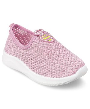 Kittens Shoes Slip On Style Solid Shoes - Pink