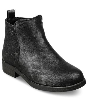 Kittens Shoes Ankle Length Boots - Black
