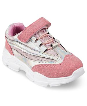 Kittens Shoes Velcro Straps Shoes - Pink